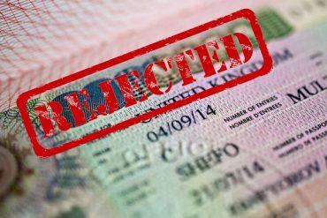 Refused Visa Application